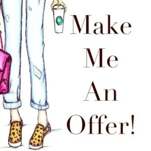 Other - All reasonable offers are usually accepted!! 😍